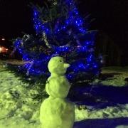 Чудесный снеговик